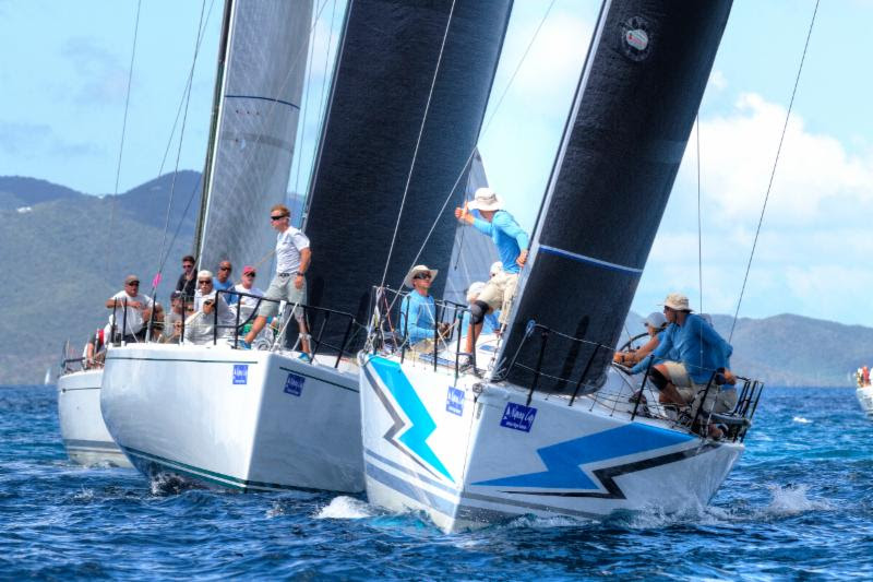 BVI Spring Regatta and Sailing Festival One Final Race on